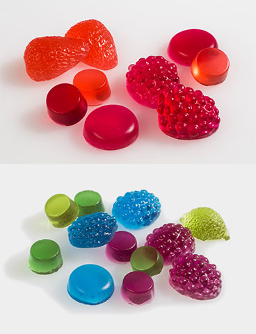 Red Blue Jelly Bases