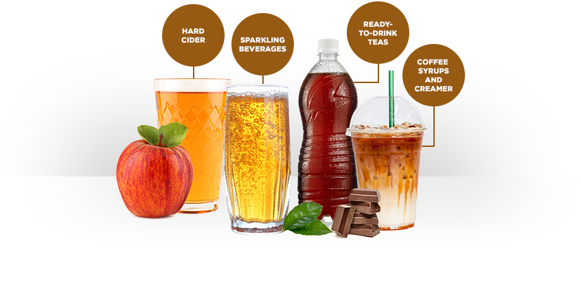 caramel-brown-assorted-drinks