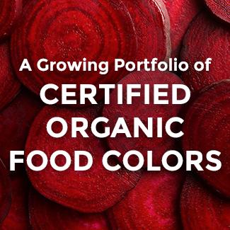 Natural Food Coloring | Certified Organic Colors : Sensient Food ...